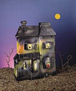 Haunted House Halloween Decorations Union Products Inc