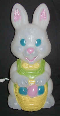 Light up plastic easter decorations baby bunny general - Light up easter decorations ...